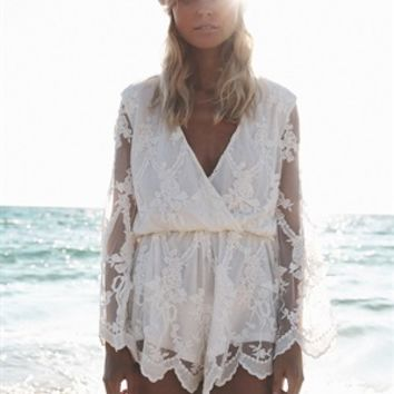 Dentelle Playsuit - SABO SKIRT