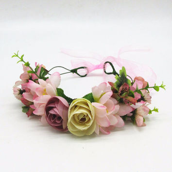 Shades of Beauty - Whimsy Flower Crown