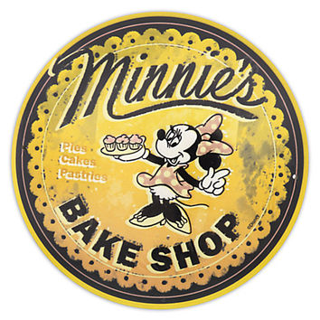Minnie's Bake Shop Wall Sign | Disney Store