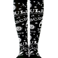 OUIJA ALL OVER KNEE HIGH