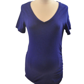 Blue Short Sleeve T-Shirt by A Pea In The Pod