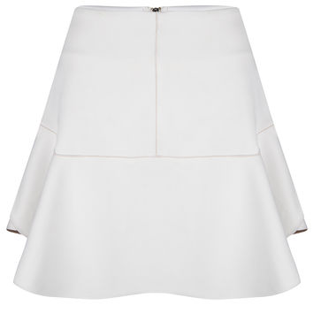 Sudo Skirt White