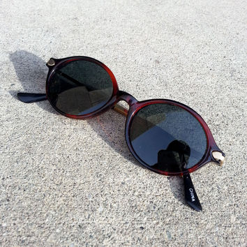 True Vintage 1960's Oval Spectacle Sunglasses