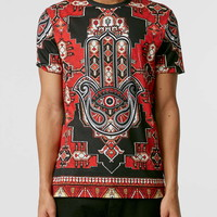 Jaded Red Hamsa T-Shirt*
