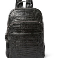 Santiago Gonzalez - Crocodile Backpack | MR PORTER