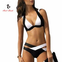 Brazilian Bikini 2016 New Sexy Women Swimwear Swim Suit Plus Size Bikinis Set Maillot De Bain Push Up Bra Swimsuit BJ189