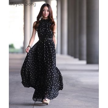 Chiffon Maternity Dresses Long Bohemian Party Evening Clothes For Pregnant Pregnancy Photography Props Photo Shoot Dress New Dot