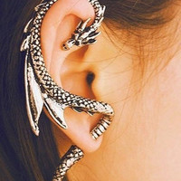 Dragon Cuff Earring