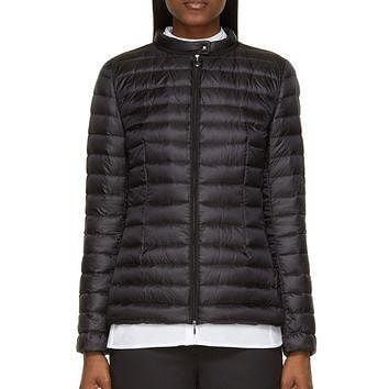 Moncler Black Quilted Down Damas Jacket