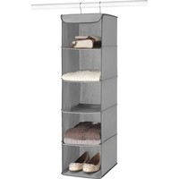 Whitmor Hanging Accessory Shelves, Grey - Walmart.com