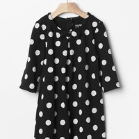 Gap Baby Dot Bow Pleat Dress