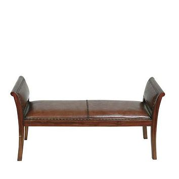 Leather Bench | Eichholtz Butterfly