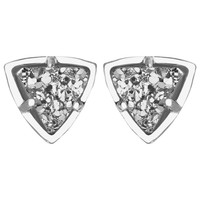 Kendra Scott Parker Platinum Drusy Earrings