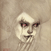 Silence is Rotten, special limited edition archival print by Jel Ena