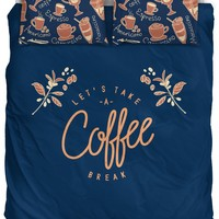 Coffee Break Bedding Set