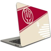 Indiana University - Macbook Air or Macbook Pro (13 inch) Vinyl, Removable Skin - IU Circle Design