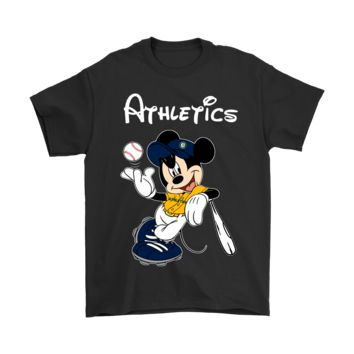 DCCKON7 Baseball Mickey Team Oakland Athletics Shirts