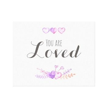 You Are Loved - Wall Print Art