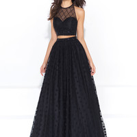 Madison James 17-202 Two Piece Prom Dress
