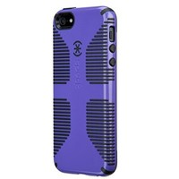 Speck Products CandyShell Grip Case for iPhone 5 & 5S (Bulk Packaging) (Grape Purple/Black)