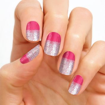 100% Real Nail Polish Strip by Color Street - Florence Fizz (Buy 3 get 1 Free)