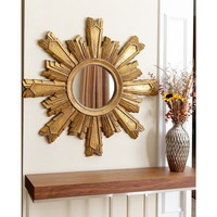 ABBYSON LIVING Mikah Gold Sunburst Wall Mirror | Overstock.com Shopping - The Best Deals on Mirrors