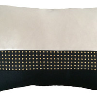 Kim Salmela, Jett 14x20 Pillow, Ivory, Decorative Pillows