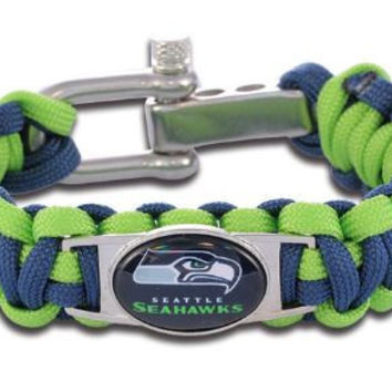 NFL - Seattle Seahawks Custom Paracord Bracelet