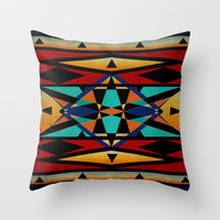 ATSILA Throw Pillow by Ally Coxon