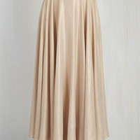 Vintage Inspired Long Maxi Appointed to Elegance Skirt