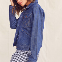 Vintage Denim Trucker Jacket | Urban Outfitters