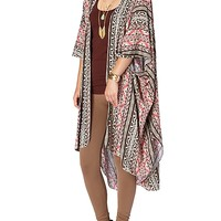 Pink Southwestern Bed Jacket