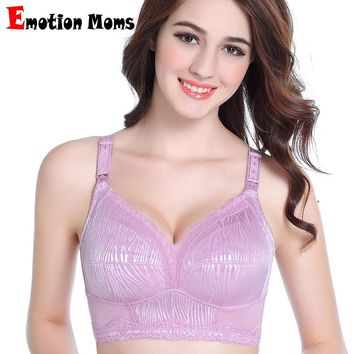 Emotion Moms Wire Free Women Maternity Clothes Maternity Bra Breastfeeding Bra Nursing Bra for pregnant women Underwear Bras