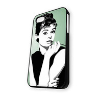 Audrey Hepburn sketsa iPhone 5/5S Case