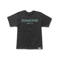 Diamond Classic Tee in Black