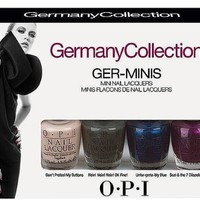 OPI 2012 Germany Collection Ger-minis Nail Lacquers 1/8th Sizes   AihaZone Store