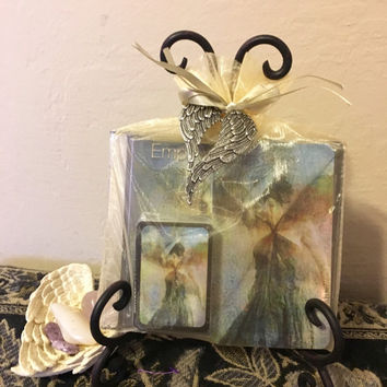 Empower the Empath Deluxe Healing Set wtih BAG with WINGS (Empath CD, Affirmation Cards & Mini Message Cards)