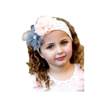 Giggle Moon-Graced Knit Headband  (size Toddler)