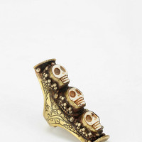 Urban Outfitters - Natalie B Jewelry Skull Saddle Ring