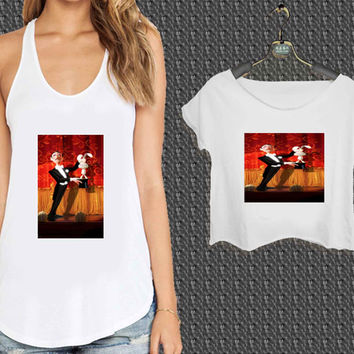 magic character disney For Woman Tank Top , Man Tank Top / Crop Shirt, Sexy Shirt,Cropped Shirt,Crop Tshirt Women,Crop Shirt Women S, M, L, XL, 2XL*NP*
