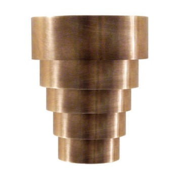 Visual Comfort and Company SR2011HAB Studio Micah Sconce in Hand-Rubbed Antique Brass