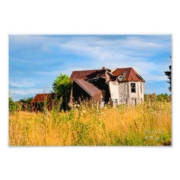 Summer's Beauty-Dilapidated House