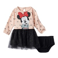 Disney's Minnie Mouse Tulle Dress - Baby Girl, Size:
