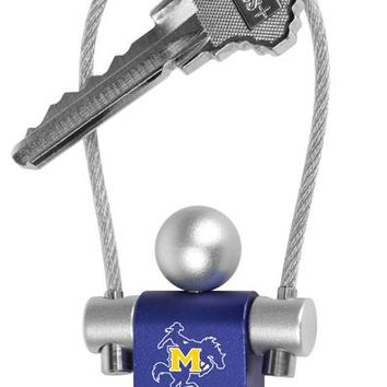 McNeese State Cowboys Jumper Keychain