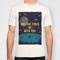 May the force be with you T-shirt by Thyme