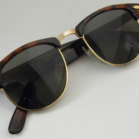 Vintage Deadstock CLUBMASTER Sunglasses TORTISE