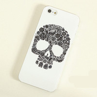 Skull Frosted Painting Phone Case For iPhone 4/4S iPhone 5