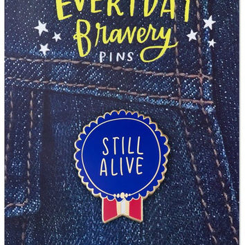 Still Alive Pin - Enamel Ribbon Award