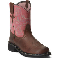"10010808 Women's Fatbaby II 8"" Western Ariat Boots from Bootbay, Internet's Best Selection of Work, Outdoor, Western Boots and Shoes."