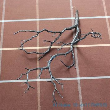 1 PCS Beautiful Artificial small Plastic Dried Branch Plant Home Wedding Decoration F220